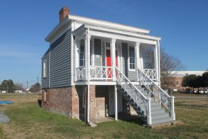 With successful completion of its first local project at historic Summerseat (pictured here), HistoriCorps has secured funding from The Cameron Foundation to establish a regional office and to undertake additional historic preservation field school projects in the Tri-Cities area. (Photo Courtesy of HistoriCorps)