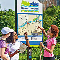 Realizing Plans for the Appomattox River Trail System